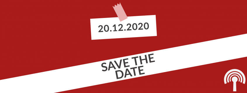 Save The Date: 20.12.20
